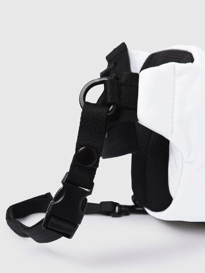 Diesel - F-URBHANITY BUMBAG, White - Belt bags - Image 6