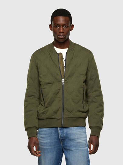 Diesel - K-CHRYSO, Vert Militaire - Pull Maille - Image 1