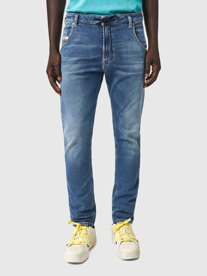 Diesel - Krooley JoggJeans® Z69VK, Bleu moyen - Jeans - Image 1