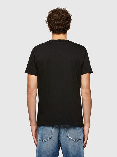 Diesel - T-DIEGOS-A7, Nero - T-Shirts - Image 2