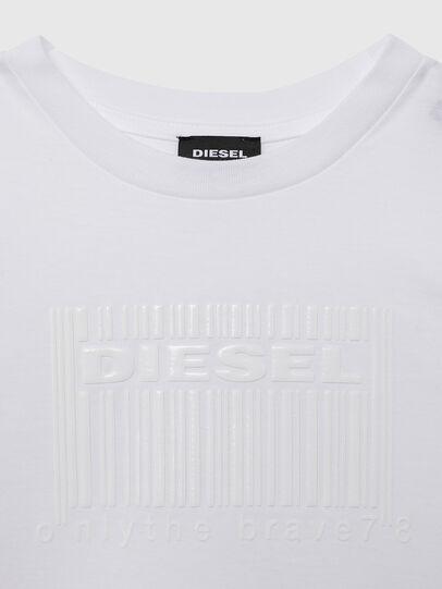 Diesel - TUDERCODE OVER, Blanc - T-shirts et Hauts - Image 3