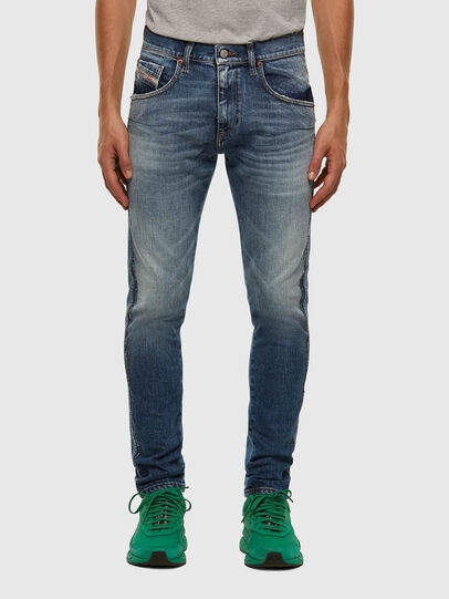 Diesel - D-Strukt 009GE, Mittelblau - Jeans - Image 1