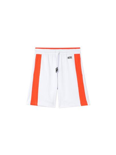 Diesel - UMLB-PAN-SP, Blanc/Orange - Pantalons - Image 1