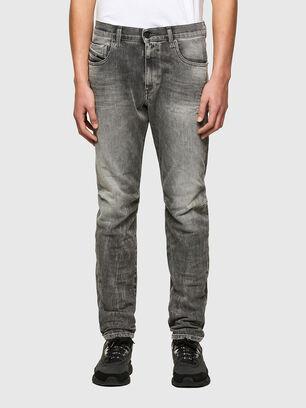 D-Strukt 009MY, Grigio Chiaro - Jeans