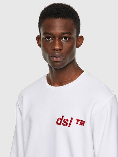 Diesel - S-GIRK-B3, Weiß - Sweatshirts - Image 3