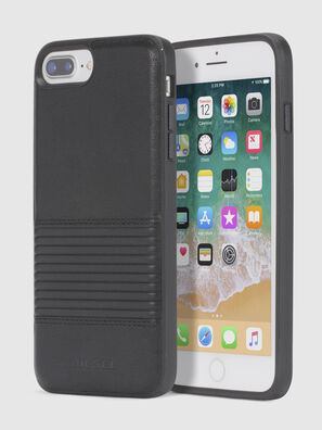 BLACK LINED LEATHER IPHONE 8/7/6s/6 CASE,  - Schutzhüllen