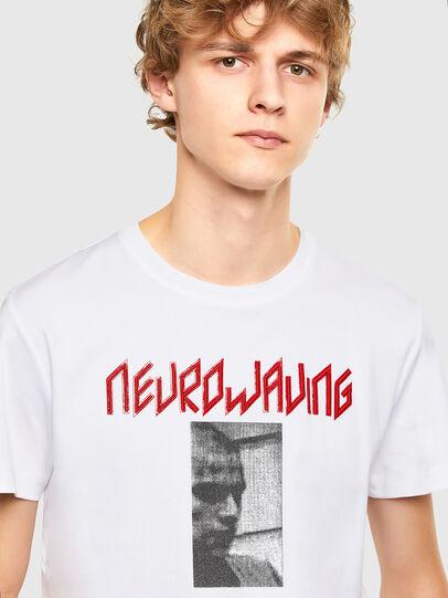 Diesel - T-IEGO, Weiß - T-Shirts - Image 3