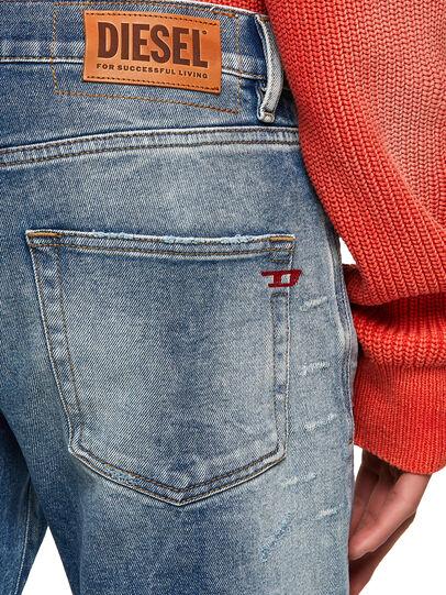 Diesel - D-Strukt 009MW, Bleu moyen - Jeans - Image 3