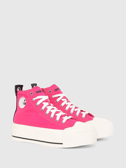 Diesel - S-ASTICO MC WEDGE, Rosa - Sneakers - Image 2