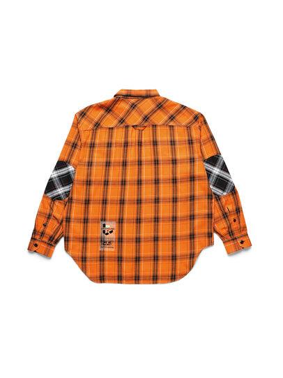Diesel - D-ANORACHECK, Orange - Hemden - Image 2