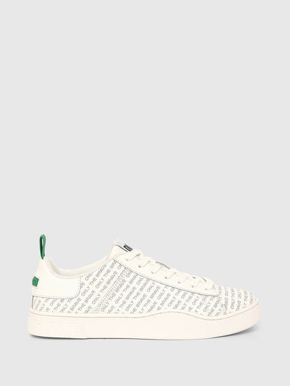 Diesel - S-CLEVER LOW LACE, Blanc/Vert - Baskets - Image 1