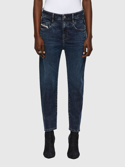 Diesel - Fayza JoggJeans® 069WZ, Blu Scuro - Jeans - Image 1