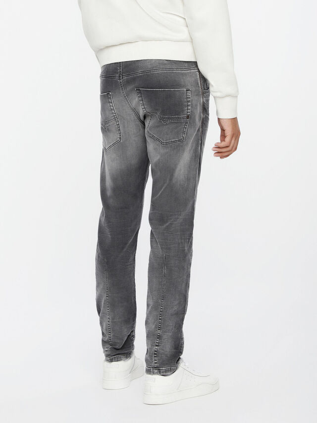 Diesel - Krooley JoggJeans 0855B, Hellgrau - Jeans - Image 2