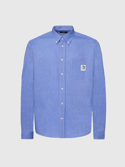 Diesel - S-JAMES, Bleu - Chemises - Image 1