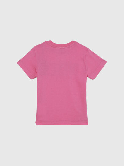 Diesel - TJUSTLOGOB-FL MC, Rose - T-shirts et Hauts - Image 2