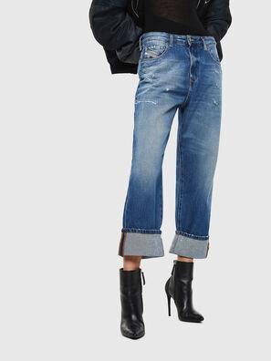 D-Reggy 0097B, Mittelblau - Jeans