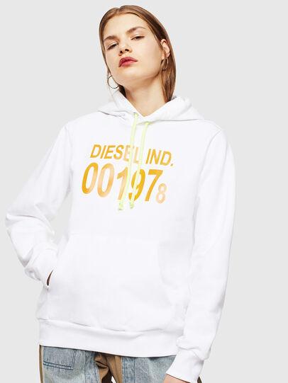 Diesel - S-GIRK-HOOD, Weiß - Sweatshirts - Image 2