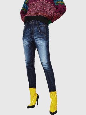 Fayza JoggJeans 069IE, Dunkelblau - Jeans