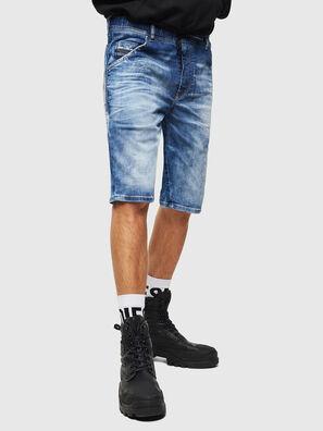 D-KROOSHORT-T, Mittelblau - Kurze Hosen