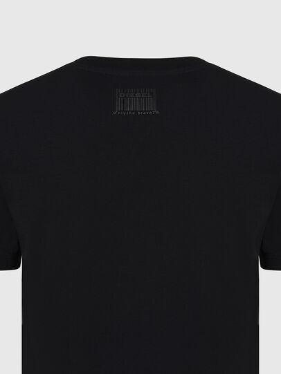 Diesel - T-SILY-E56, Schwarz - T-Shirts - Image 3