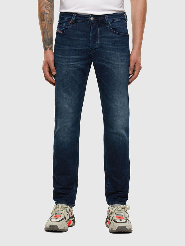 Larkee-Beex 009ER, Dunkelblau - Jeans