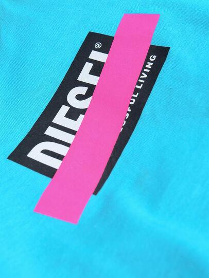 Diesel - TJUSTDIXB, Azurblau - T-Shirts und Tops - Image 3