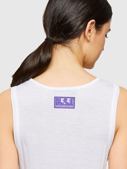 Diesel - T-ANK-A1, Bianco - T-Shirts - Image 3