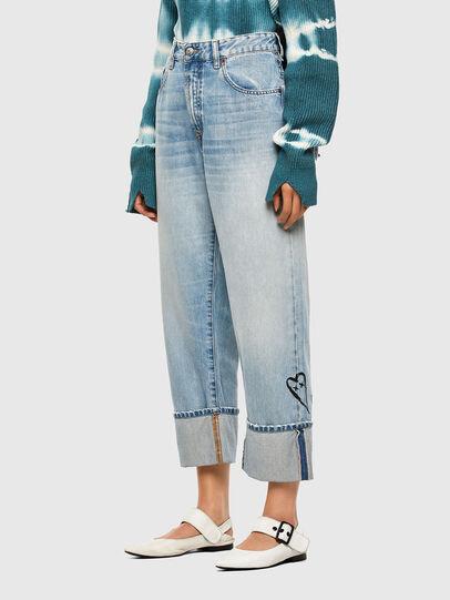 Diesel - D-Reggy 009GZ, Hellblau - Jeans - Image 7