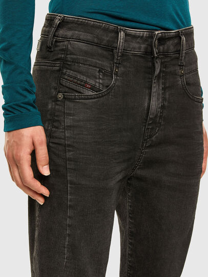 Diesel - FAYZA JoggJeans® 009HM, Schwarz/Dunkelgrau - Jeans - Image 3