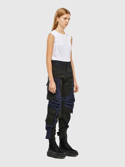 Diesel - D-Kiki JoggJeans® 009KM, Schwarz/Dunkelgrau - Jeans - Image 8