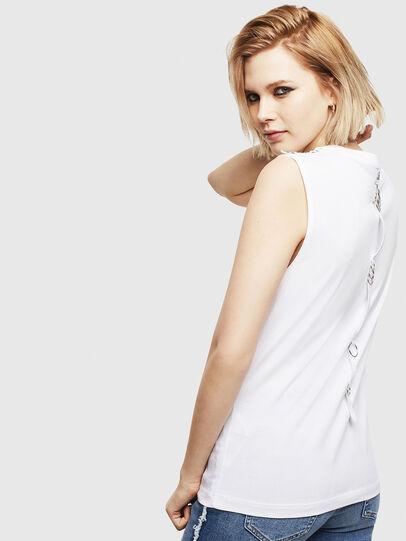 Diesel - T-LESLEE-A, Weiß - T-Shirts - Image 2
