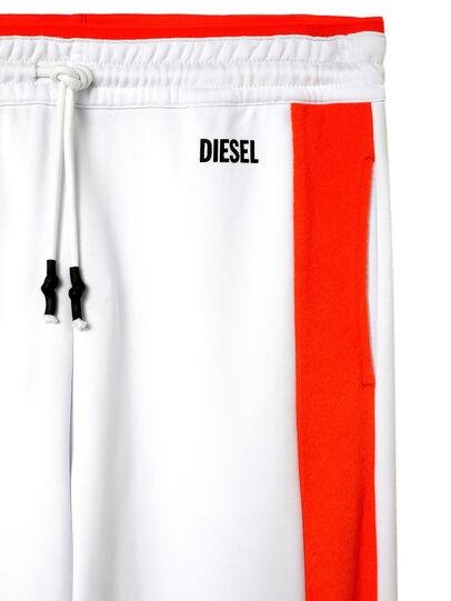 Diesel - UMLB-PETER-SP, Blanc/Orange - Pantalons - Image 3