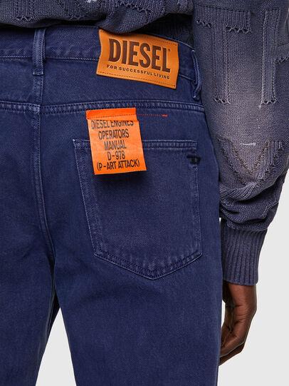Diesel - D-Macs 09A34, Mittelblau - Jeans - Image 4