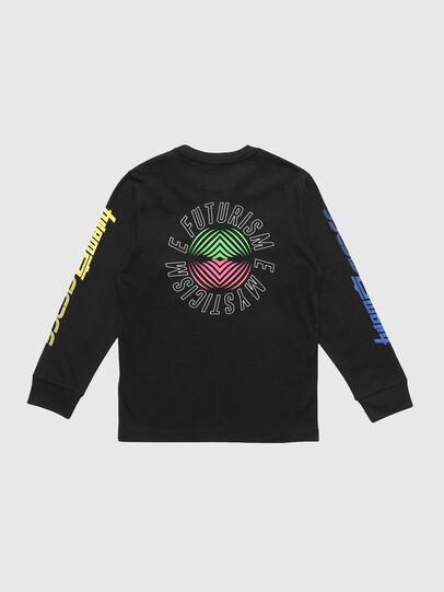 Diesel - TJUSTLSY1, Schwarz - T-Shirts und Tops - Image 2