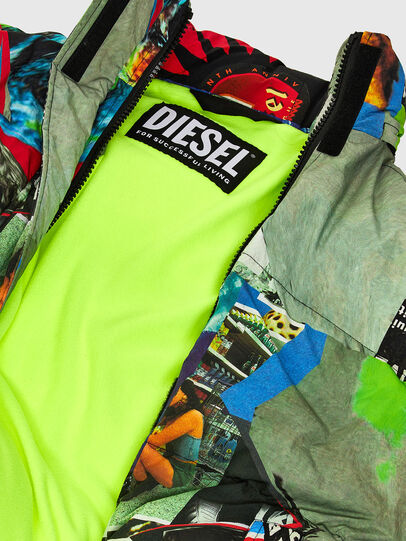 Diesel - W-EMMICK, Rosso/Verde - Giacche invernali - Image 9