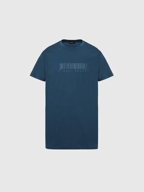T-JUST-SLITS-X87, Wassergrün - T-Shirts