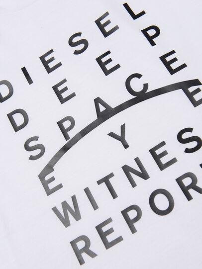 Diesel - TJUSTJ5 OVER, Weiß - T-Shirts und Tops - Image 3