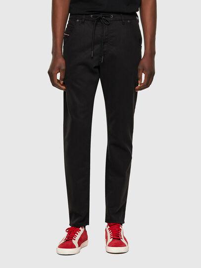 Diesel - Krooley JoggJeans® 069NC, Noir/Gris foncé - Jeans - Image 1