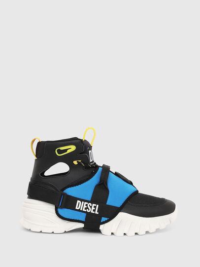 Diesel - S-SHARQUEZ MID, Schwarz - Sneakers - Image 1