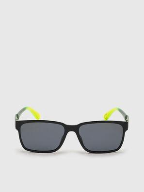 DL0327, Schwarz/Gelb - Sonnenbrille