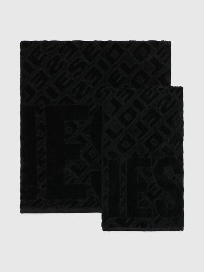 Diesel - COPP 3DLOGO, Black - Bath - Image 1