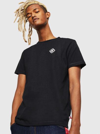 Diesel - CC-T-DIEGO-COLA, Schwarz - T-Shirts - Image 1