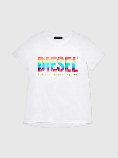 Diesel - BFOWT-SILY-P, Weiß - T-Shirts - Image 1