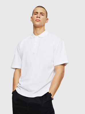 T-PLATO-POP, Weiß - Polohemden