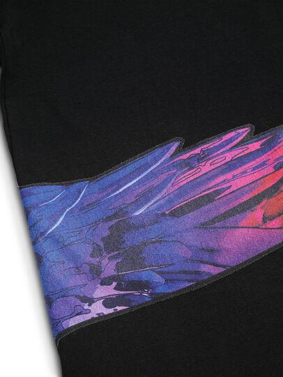 Diesel - D-5055-B, Schwarz - T-Shirts - Image 7