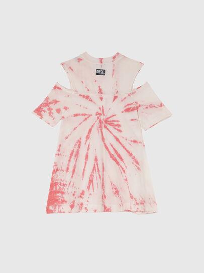 Diesel - DOPELTD, Rose/Blanc - Robes - Image 2