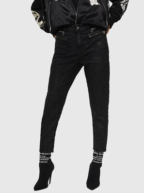 D-Eifault JoggJeans 084AG, Schwarz/Dunkelgrau - Jeans