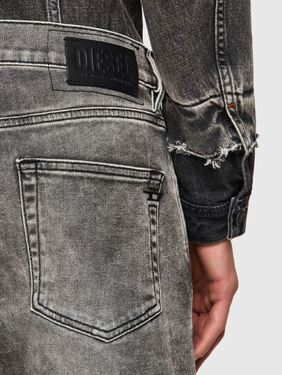 Diesel - D-Strukt 009KA, Gris Clair - Jeans - Image 3
