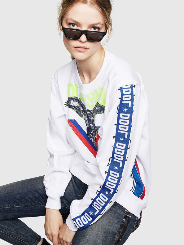F-LYANYDY, Weiß - Sweatshirts