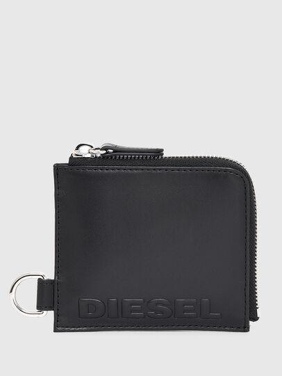Diesel - L-ZIP CHAIN, Noir - Portefeuilles Zippés - Image 1